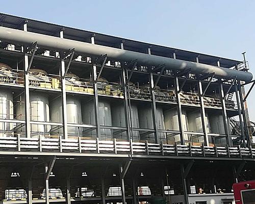 临沂庚辰530立高炉煤气除尘器