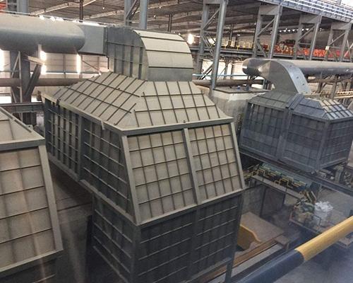 大庆市中庆特钢电炉除尘系统