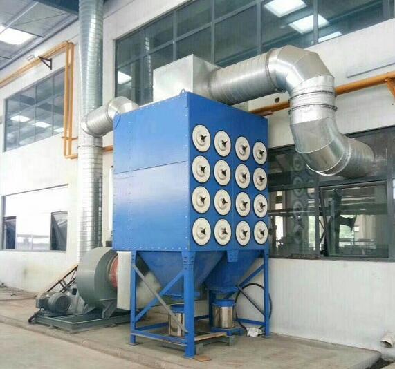 脉冲滤筒除尘器,滤筒式除尘设备生产厂家
