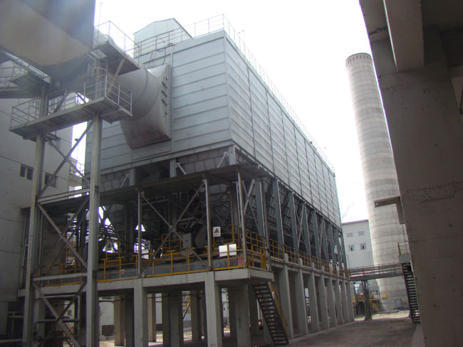 包钢炼铁厂烧结机布袋除尘器