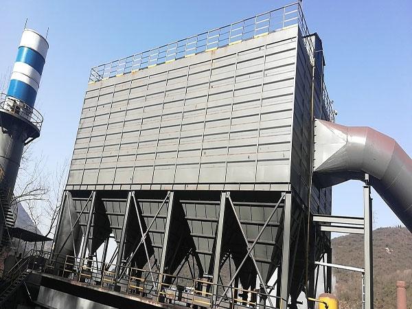 略阳钢铁高炉出铁厂干法净化除尘系统