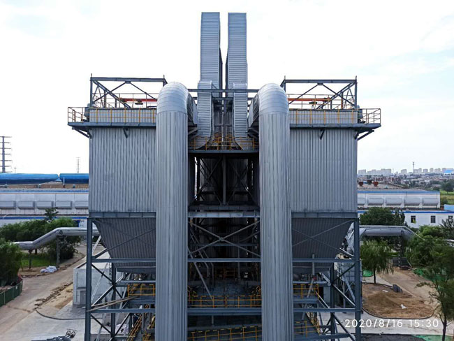 包头铝业12万吨碳素焙烧烟气脱硫脱硝除尘系统