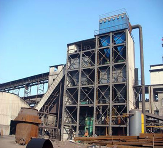 高炉喷煤制粉除尘器制作安装